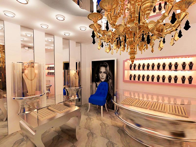 Jewelry Design, jewelry decoration , jewelry interior design (3)