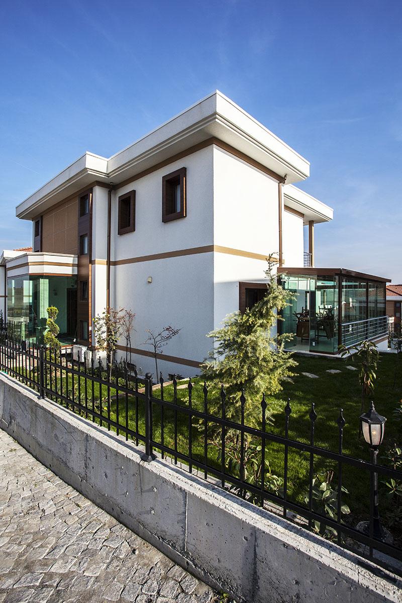 Villa Dekorasyon Örnekleri, Villa dış cephe peyzaj