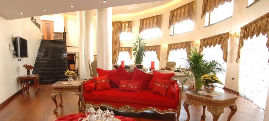 klasik villa dekorasyon