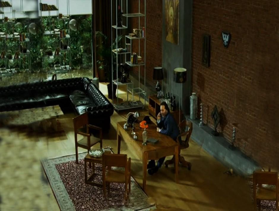 Kaçak dizisi,Rusyalının Ev dekorasyonu