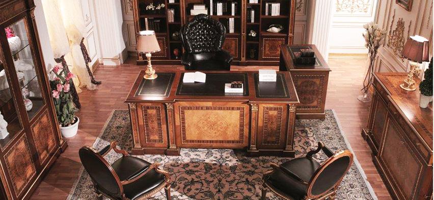 Klasik Ofis Mobilyaları,Ofis Masaları