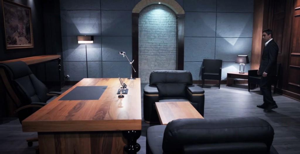 Kurtlar Vadisi Polat Alemdarın Ofis Dekorasyonu