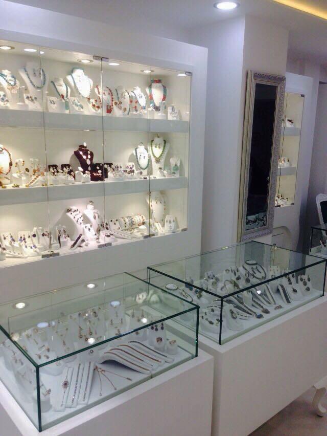 Nisa Gümüş, Gümüş Mağazası Dekorasyonu, mücevher mağazası dekorasyonu, gümüş dükkanı