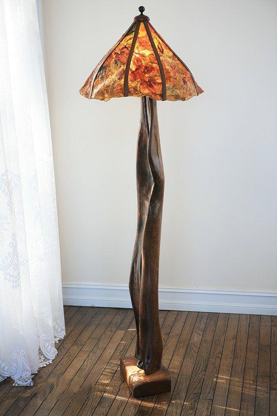 kütük ağaç avize ve aydınlatma modelleri