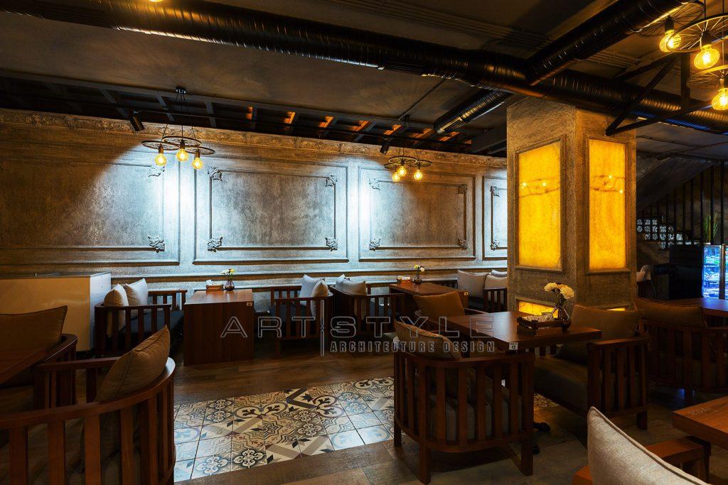Pandora Cafe Restaurant Dekorasyon, cafe dekorasyon, restaurant dekorasyonları, Artstyle Mimarlık