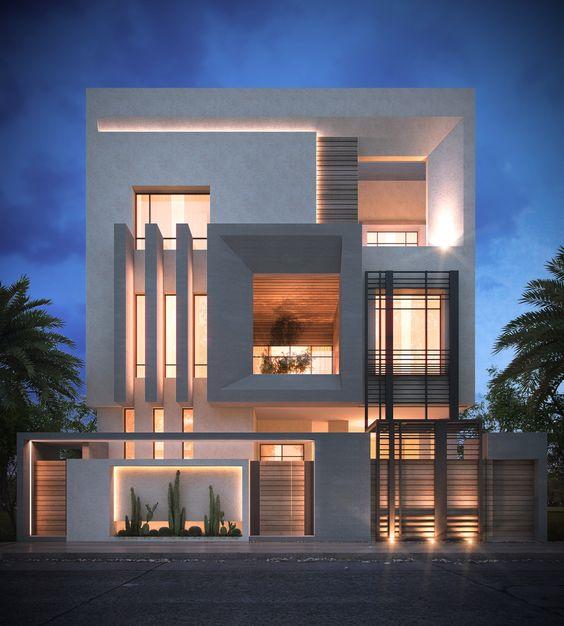 Modern villa dekorasyonlar artstyle mimarl k blog for Model villa moderne