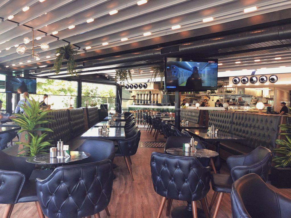 Watergarden o cafe restaurant dekorasyonu artstyle