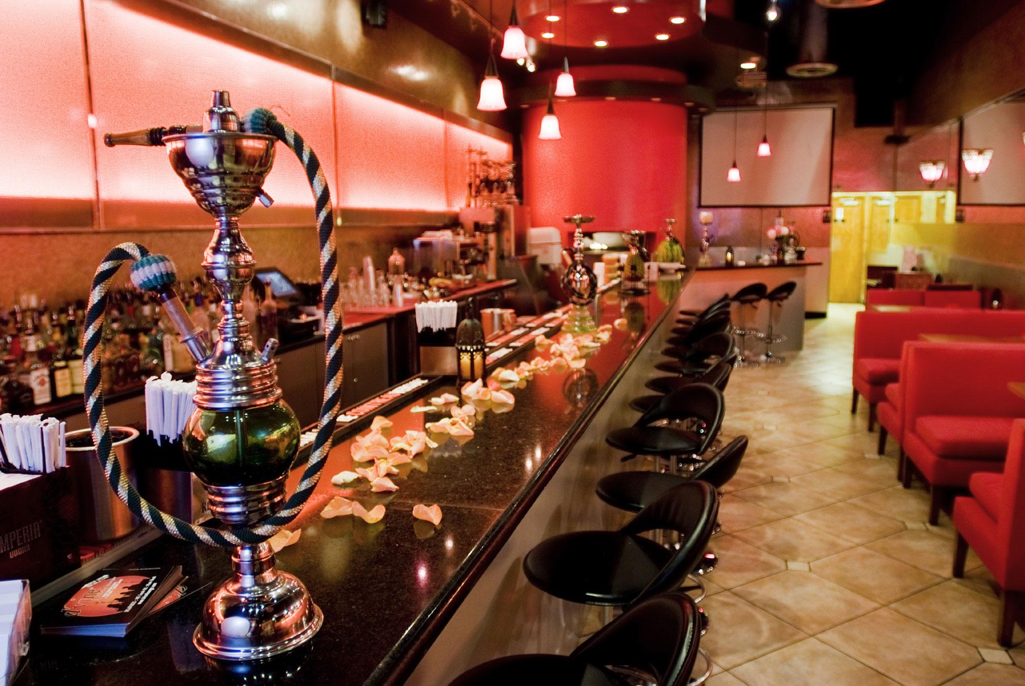 Nargile Cafe Dekorasyon örnekleri.