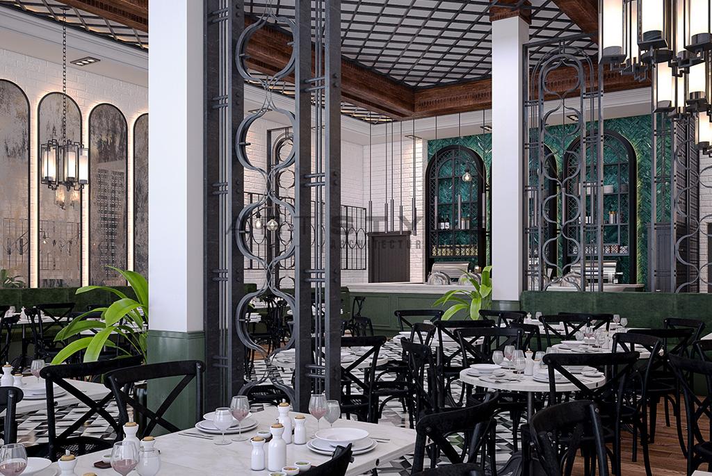 Fée Verte Cafe & Restaurant Dekorasyonu | Artstyle Mimarlık Blog